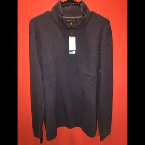 Banana Republic Sweaters - Banana Republic Coolmax Half Zip Pullover Large